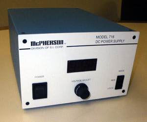 stable DC power supply for tungsten halogen lamps