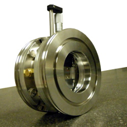 precision adjustabl vacuum slit with ISO NW100K flanges